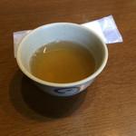 58925569 - 温かいお茶。                       うまし。
