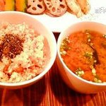 POINT - 玄米&味噌汁セット