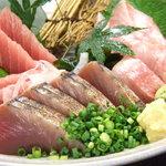 日本三昧 鉄板鍋 十焼十鍋 - 小田原より朝獲れ鮮魚の盛り合わせは絶品☆内容は随時更新