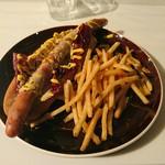 58933723 - blown hot dog