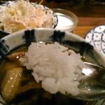バンコクガーデン - [料理] ライス (察するにタイ米) ひと口大 アップ♪w