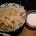 バンコクガーデン - [料理] サラダ & タピオカ入りココナツミルク