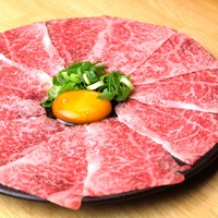 生肉専門店 焼肉 金次郎 - 極上サーロインの王様ユッケ