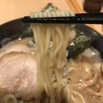 節極 - 【2016.11.15】加水率高めの中細麺。