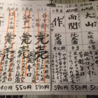 日本酒は日本再生酒場門前仲町店におまかせ!