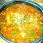基順館 - テグタンスープ   ¥350
