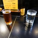 吾照里 - ドリンク写真:お湯割り、烏龍茶