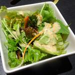 肉処 天穂 - 「和牛焼肉ランチ」サラダ
