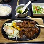 肉処 天穂 - 「和牛焼肉ランチ」800円