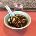 幸来軒 - スープ