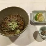 亀の井別荘 - 蕎麦