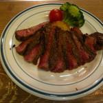 肉バル銀次郎 - 近江牛ランプステーキ100g