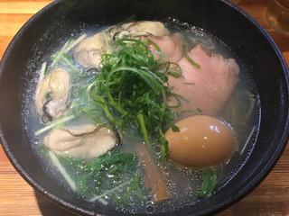 ラーメン巌哲 - 広島(1,300円)+味玉(100円)※ラーメン巌哲