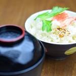 金蛸ダイニング - ずわい蟹の炊き込みご飯