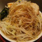 麺屋 松龍 - 松龍ラーメン(味玉・ホウレン草)850円(税込)