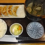 あぶ家 - 餃子定食