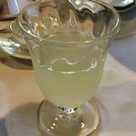 亀の井別荘 - ゆずジュース