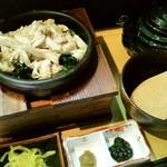 だよね。 - 「国産鶏ササミと柚子胡椒のお茶漬け」(780円)
