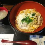 しぶき亭 - かつ丼