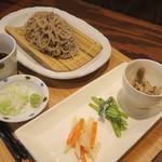 そばカフェ wanLDK - 料理写真:お蕎麦セット