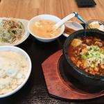 58964498 - 石鍋麻婆豆腐
