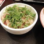 博多ラーメン 替玉食堂 - チャーシュー丼
