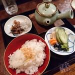 まんぎょく - お茶漬け 660円