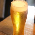 我が家 - 生ビール
