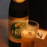我が家 - ノンアルコールビール