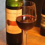 我が家 - サンタヘレナ・グランヴィーの赤ワインチリ