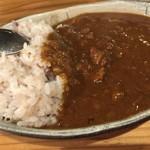 チェッカー - 料理写真:牛すじカレー