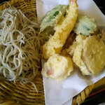 月のおと - 蕎麦三昧には サラダ蕎麦、ぶっかけ蕎麦、天麩羅蕎麦