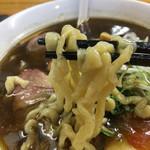 ヤマシロ - 自家製平打ち麺も手もみのうまさ