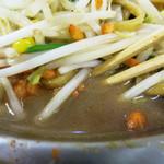 トナリ - スープを加えてつゆだく仕上げ