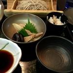 めん割烹なか川 - 煮物と炊き込みご飯が