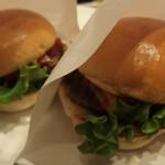 the 3rd Burger - (2016/10/23)チェダー&クリームチーズバーガー、サルサバーガー