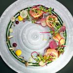 ラ・ブリック - 料理写真:銀聖 日高沖のサーモン コリエ