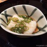 つる家 花陽 - 一口素麺 おくらのだしで 15.11月
