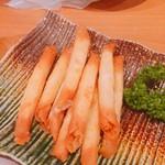 かき川 - カリカリチーズ(^^)
