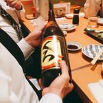 かき川 - 焼酎は一升瓶で〜(^^)