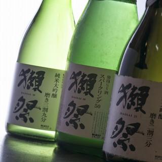 美味しい日本酒勢揃い!季節の地酒揃ってます♪