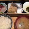 四季の味 亀谷 - 料理写真:刺身・天ぷらセット¥1000