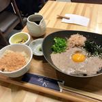 花粉 - 黒豆納豆蕎麦 ランチセット