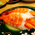 回転寿司 魚河岸 - 海老
