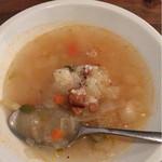 58981562 - 2016.11 ランチセットのスープ