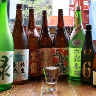 こだわりの日本酒&焼酎