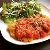 豚ロースのカツレツ トマトソース