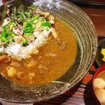 三田牛すじ 和風カレー しーくす - 鶏ゆず胡椒カレー