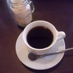 航旅莉屋 - アイスコーヒーも選べたかな。1080円からのランチにはスープとドリンクが付きます。