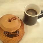 58984589 - シーソルトキャラメルとコーヒー